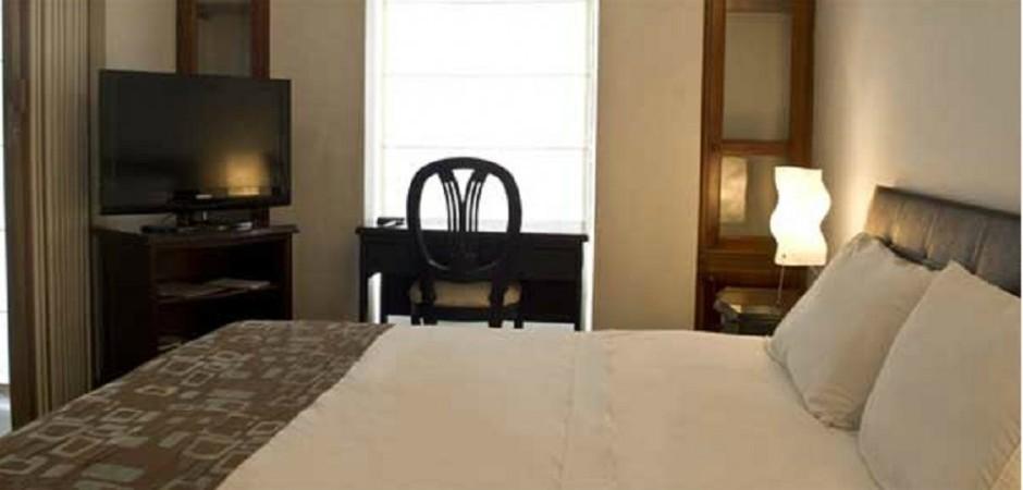 habitacion Apartamento de una alcoba. Fuente: arlington-place.com